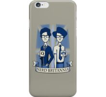 Nerd Britannia iPhone Case/Skin