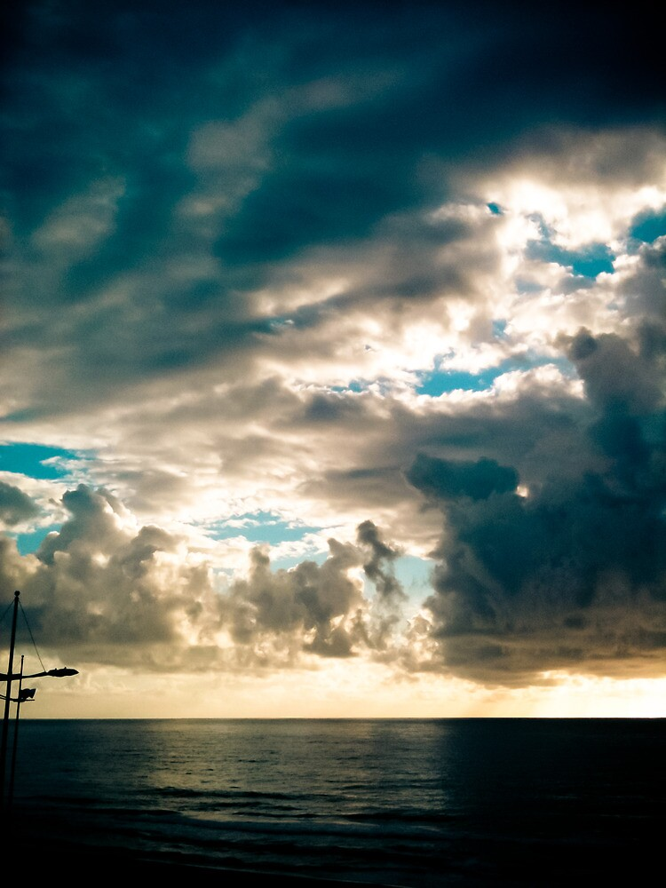 Sea and Sky [ iPad / iPod / iPhone Case ] by Mauricio Santana
