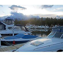 Boat Night Photographic Print