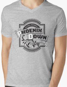Dr. Cid's Phoenix Down Mens V-Neck T-Shirt