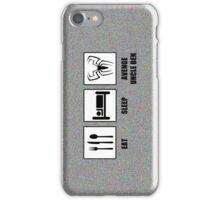 Eat Sleep Avenge Uncle Ben iPhone Case/Skin