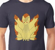 Nintails in fire Unisex T-Shirt