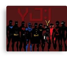 YJ:I New Team Canvas Print