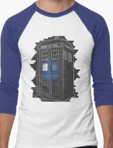 Help Me, Doctor! Men's Baseball ¾ T-Shirt