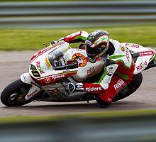 British Superbike rider Martin Jessopp by Andrew Harker