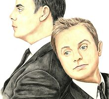 Ant and Dec by Margaret Sanderson