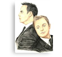 Ant and Dec Canvas Print
