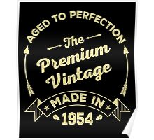 The Premium Vintage. Made In 1954 Poster
