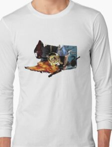 Harry Potter in Watercolour Long Sleeve T-Shirt