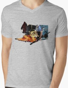 Harry Potter in Watercolour Mens V-Neck T-Shirt