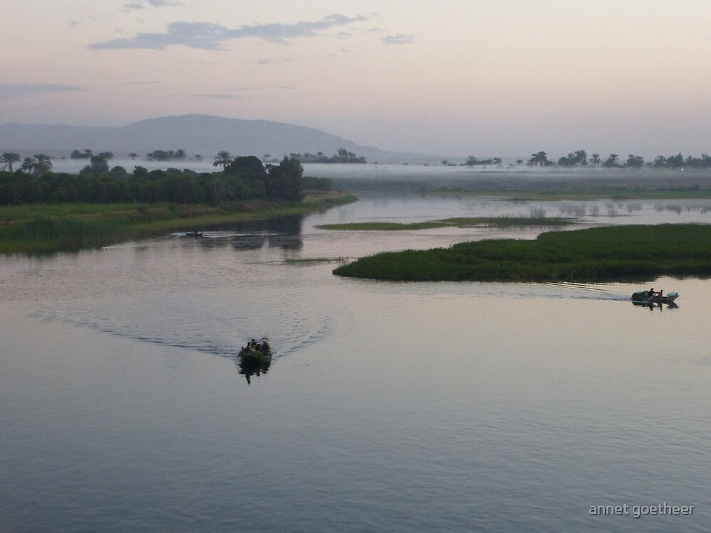 twilight on the river nile by annet goetheer