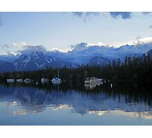 Misty Mountaintops Photographic Print