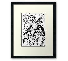 060 Framed Print