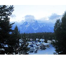 Mountains of Grandeur Photographic Print