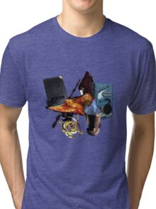 Harry Potter in Watercolour Version 2 Tri-blend T-Shirt