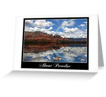 Almost Paradise... Greeting Card