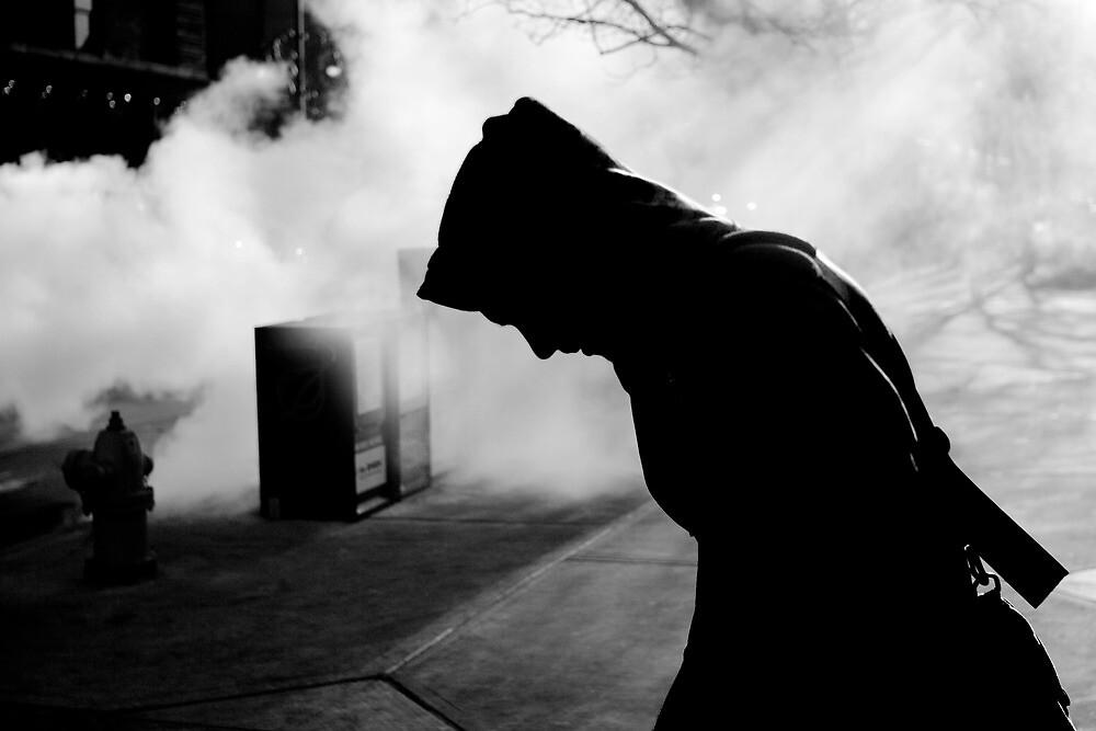 Man in Steam by Armando Martinez
