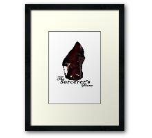 The Sorcerer's Stone Framed Print