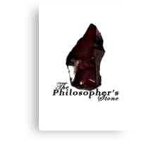 The Philosopher's Stone Canvas Print