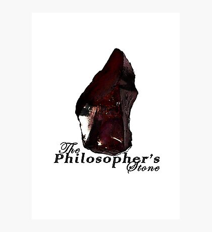 The Philosopher's Stone Photographic Print