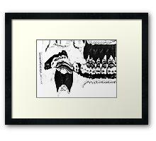 Joseph Stalin. Framed Print