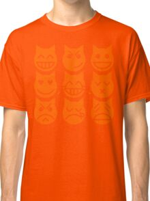 The 9 Lives of the Emoji Cat Classic T-Shirt