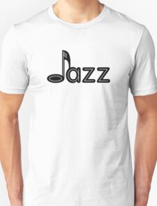 Black jazz  T-Shirt