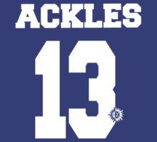 Supernatural - Ackles Jersey #13 by PotatoCrisp