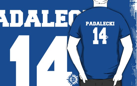 Supernatural - Padalecki Jersey #14 by PotatoCrisp