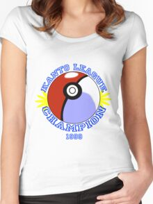 Kanto League Champion Women's Fitted Scoop T-Shirt