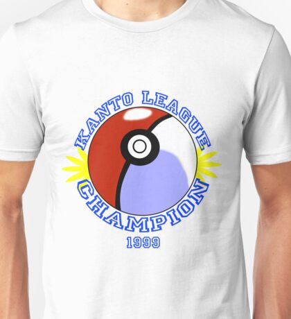 Kanto League Champion Unisex T-Shirt
