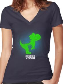 The Good Yoshi Women's Fitted V-Neck T-Shirt