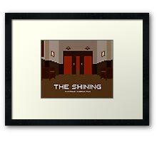 The Shining, Elevator Framed Print