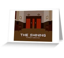 The Shining, Elevator Greeting Card