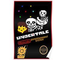 Undertale NES Edition Poster
