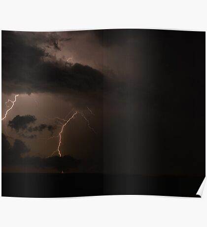 Lightening Storm 1 Poster