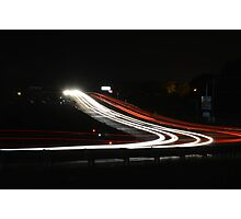 Small Town Traffic Photographic Print