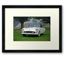 1956 Ford Thunderbird Convertible Framed Print