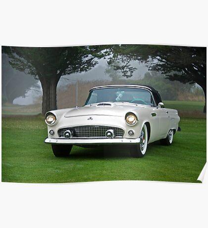 1956 Ford Thunderbird Convertible Poster