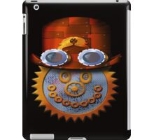 steampunk smileyface iPad Case/Skin