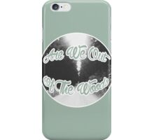are we out of the woods  iPhone Case/Skin