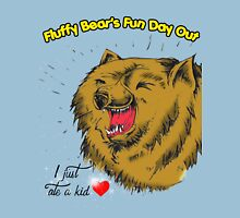 Fluffy Bear's Fun Day Out Unisex T-Shirt