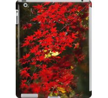 Red Maple Leafs iPad Case/Skin