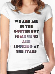 We Are All In The Gutter Women's Fitted Scoop T-Shirt