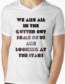 We Are All In The Gutter Mens V-Neck T-Shirt