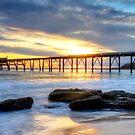 Australian Sunrise. by Julie  White