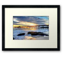 Australian Sunrise. Framed Print