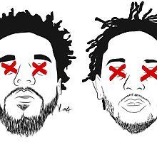 Kendrick & Cole by KumaXyfer