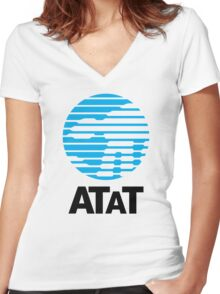 ATaT Women's Fitted V-Neck T-Shirt