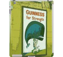 { Guinness for strength - vintage beer poster } iPad Case/Skin